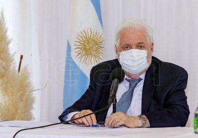 González García recibe a diputados para analizar la campaña de vacunación en el país