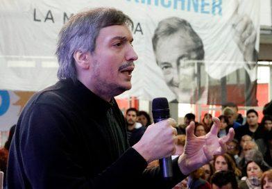 El PJ Bonaerense se reunirá para proclamar la postulación de Máximo Kirchner