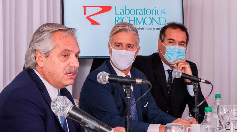 El laboratorio Richmond producirá la vacuna Sputnik V en la Argentina
