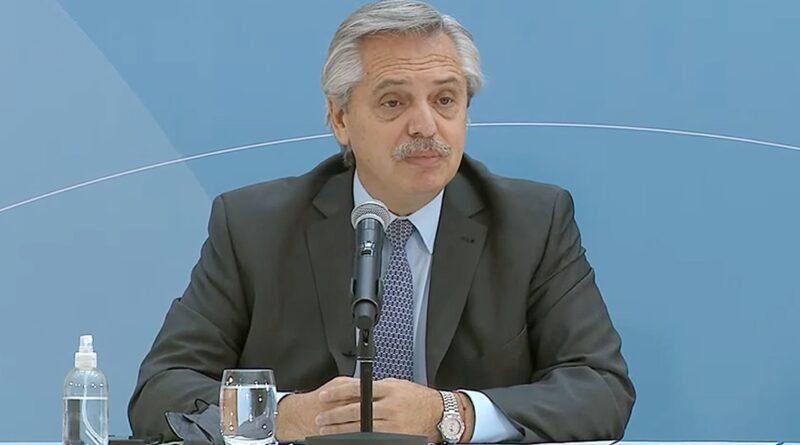 Alberto Fernández: «Los enfermeros no son empleados administrativos, son mucho más que eso»
