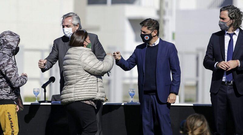 El Presidente convocó a la «épica» de reconstruir Argentina y marcó diferencias con gestión de Macri