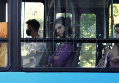 Desde hoy, no habrá límite de ocupación en el transporte público